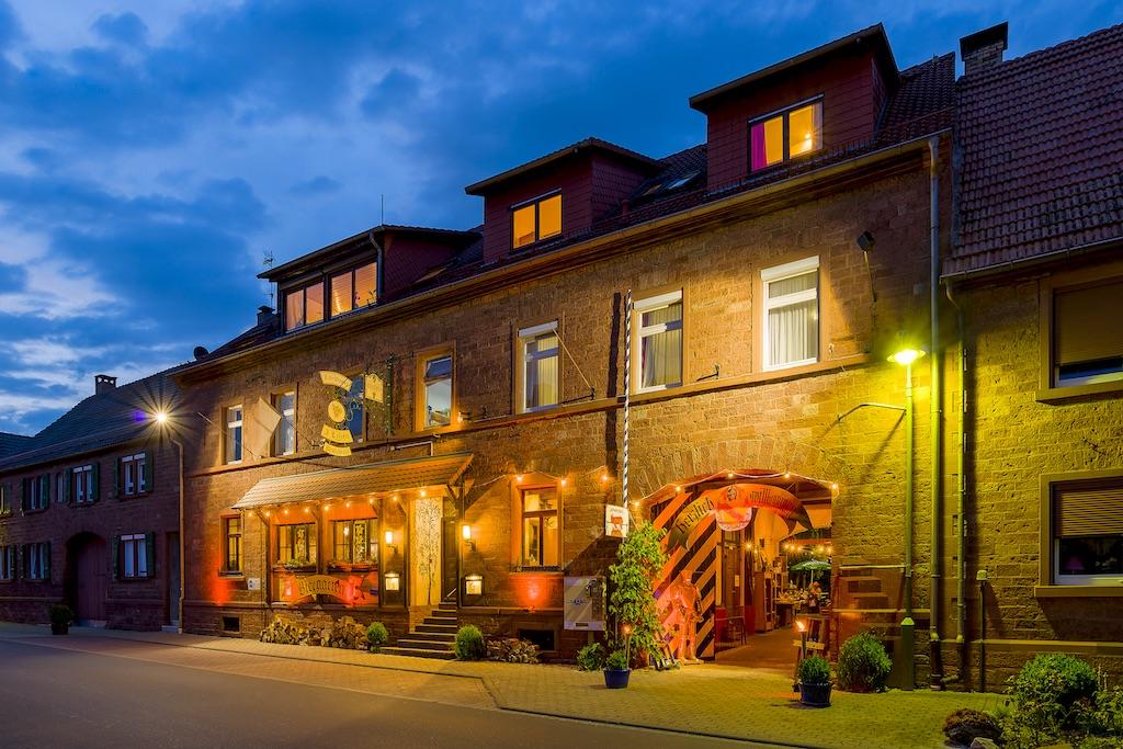 Ritteressen Lokalität Hotel Werbach