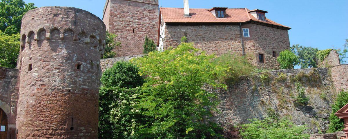 Burg Gamburg im Lieblichen Taubertal